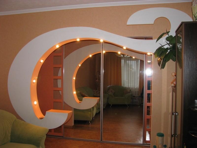 Межкомнатные арки могут объединить два помещения