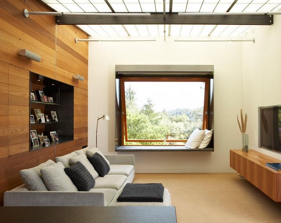 Интерьер небольшого зала в квартире