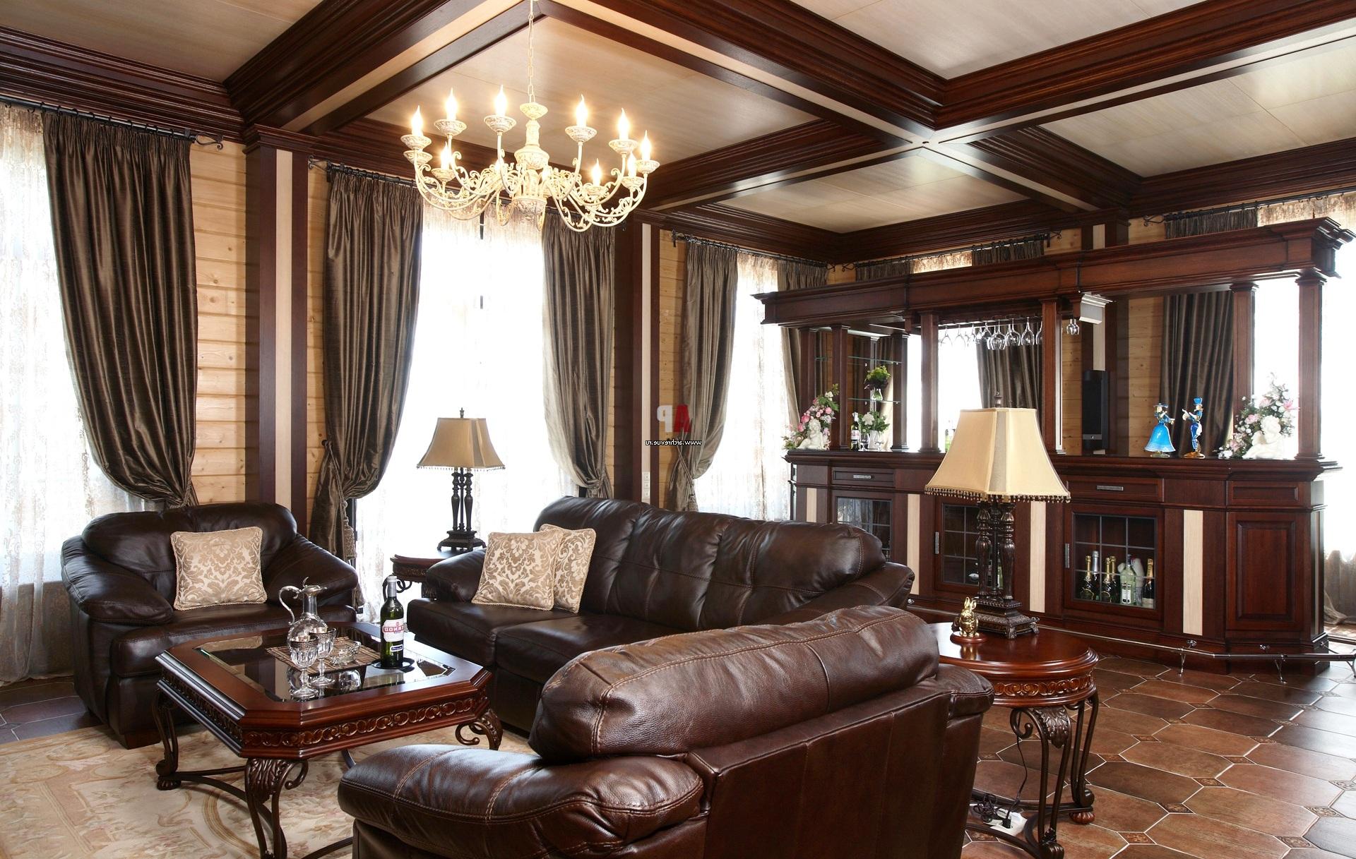 При помощи английского стиля хозяева подчеркивают собственную аристократичность и хороший вкус
