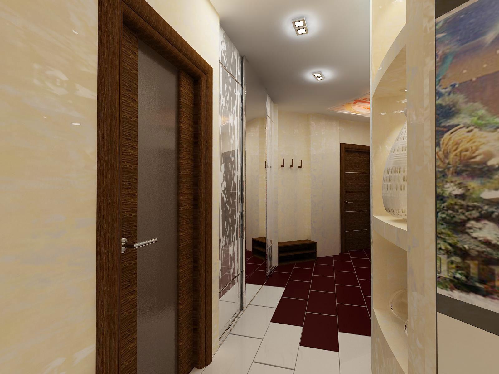 Точечное освещение коридора в хрущевке