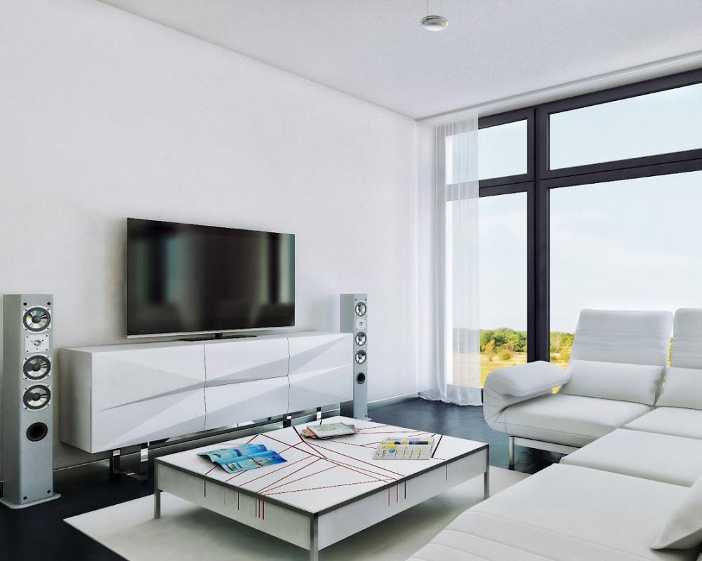 Панорманые окна в квартире