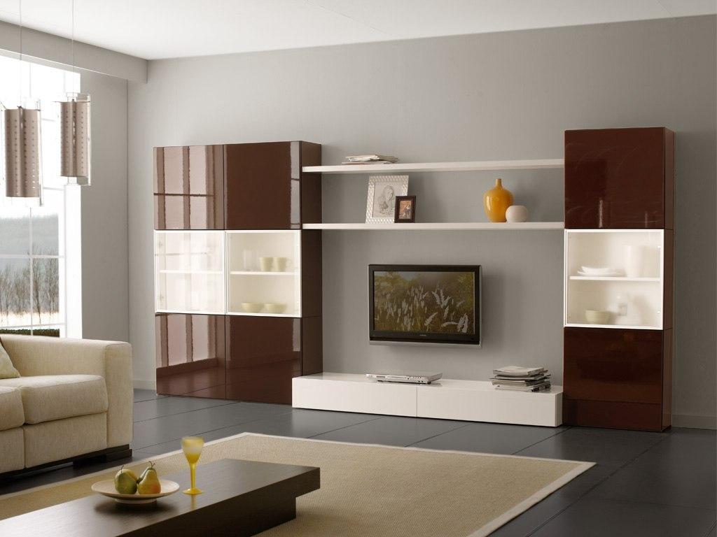Расставление мебельного гарнитура в гостиной