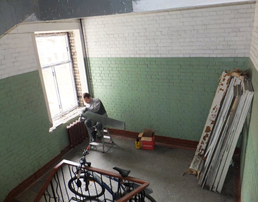 Установка металлопластиковых окон