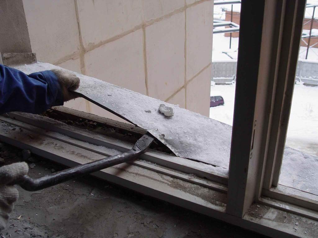 Ремонт старых окон в многоквартирном доме