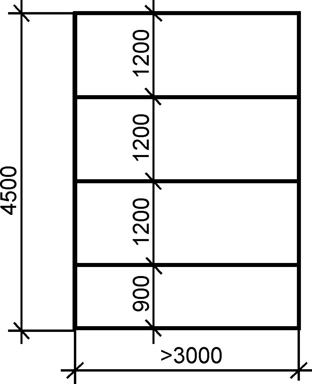 Схема расположения листов гипсокартона
