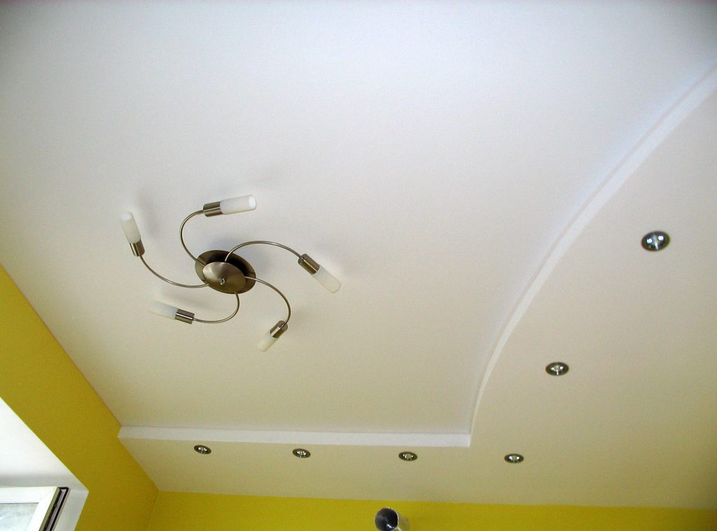 Легкий потолок своими руками