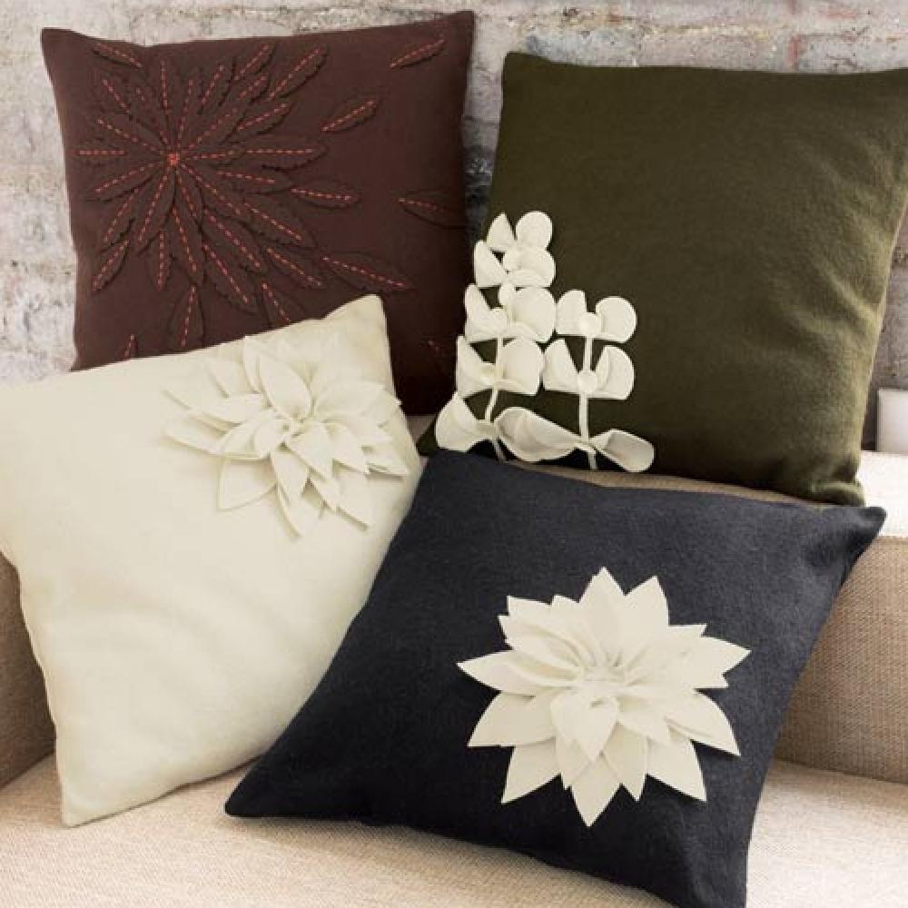 Схемы для декоративных подушек буфы своими руками