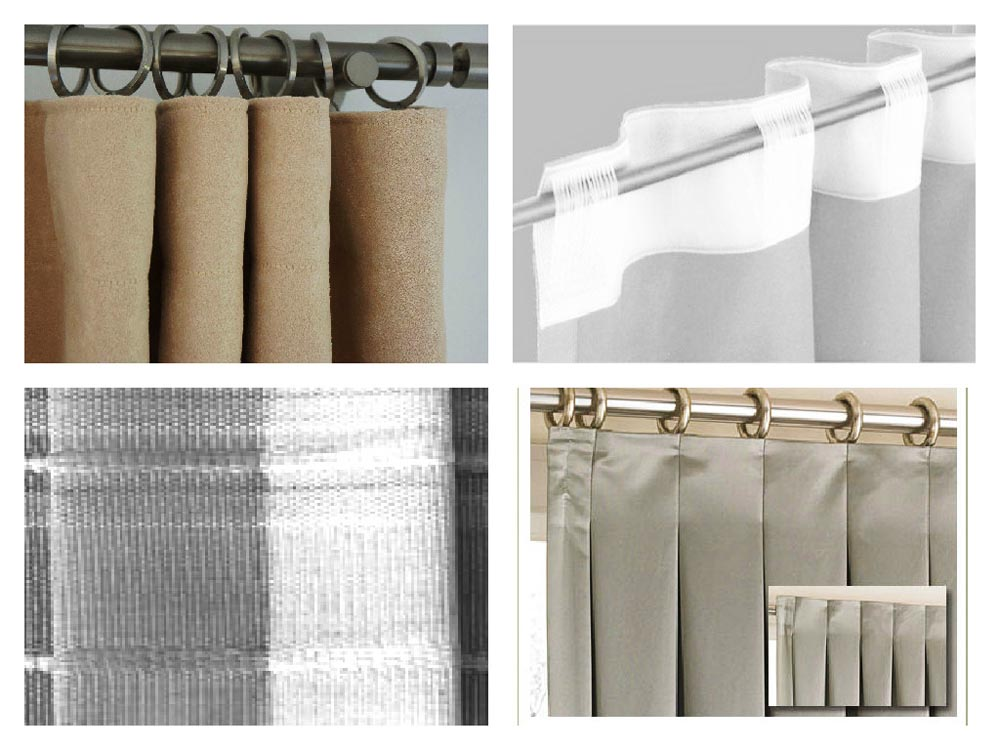 Пошив шторной ленты