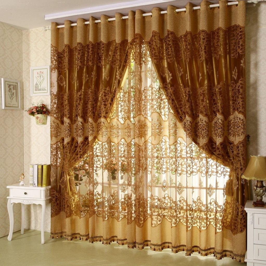 Фото идей тюль и шторы