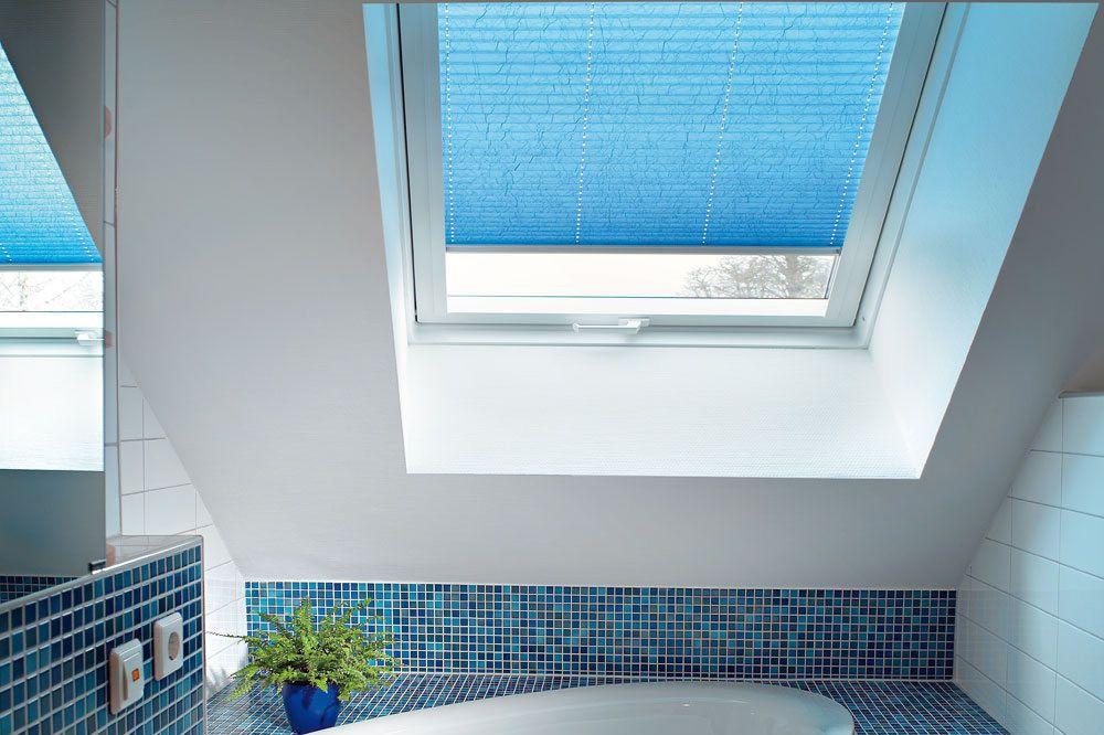 Благодаря специфике крепления, шторы плиссе могут использоваться там, где обычные шторы не подойдут