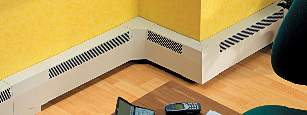 Полный ассортимент комплектующих позволяет сделать теплый плинтус любой формы