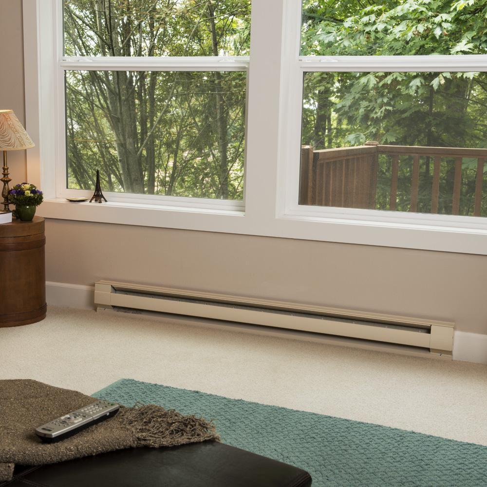 Расположение теплого плинтуса под окном — оптимальное теплотехническое решение