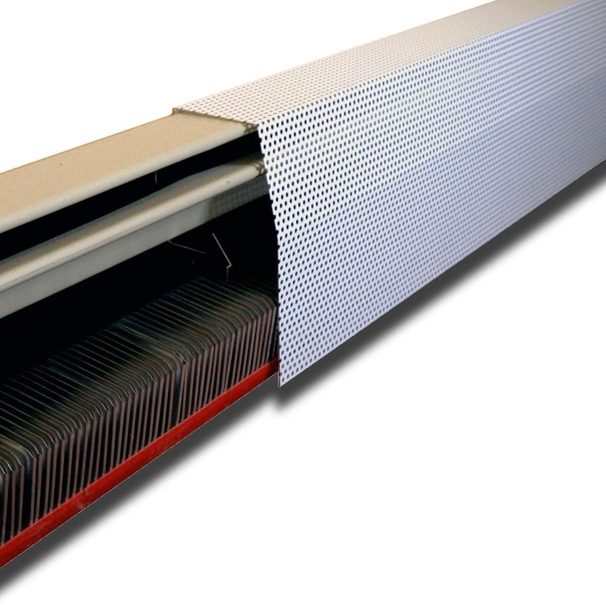 Для обеспечения циркуляции воздуха часто используются перфорированные панели
