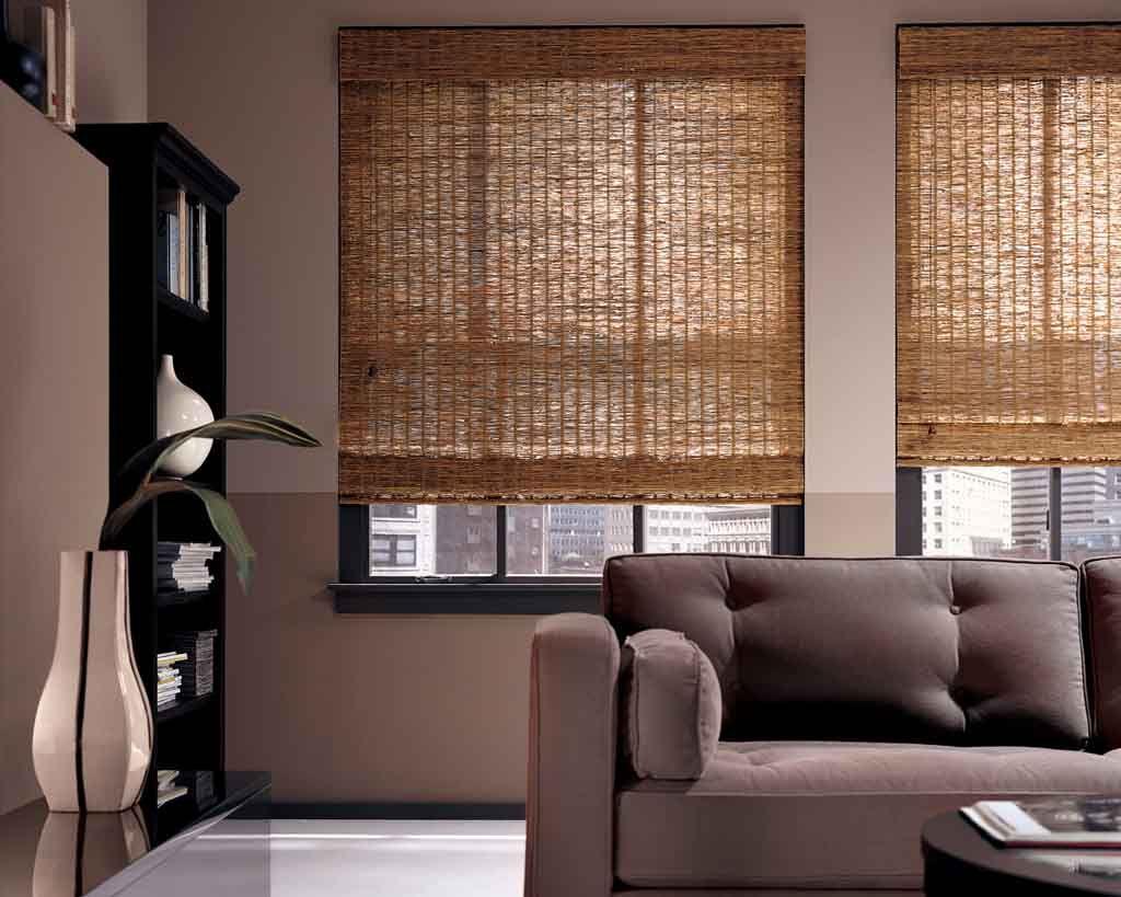 Бамбуковые жалюзи всегда модны и современны