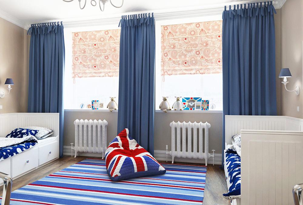 Детская комната в английском стиле