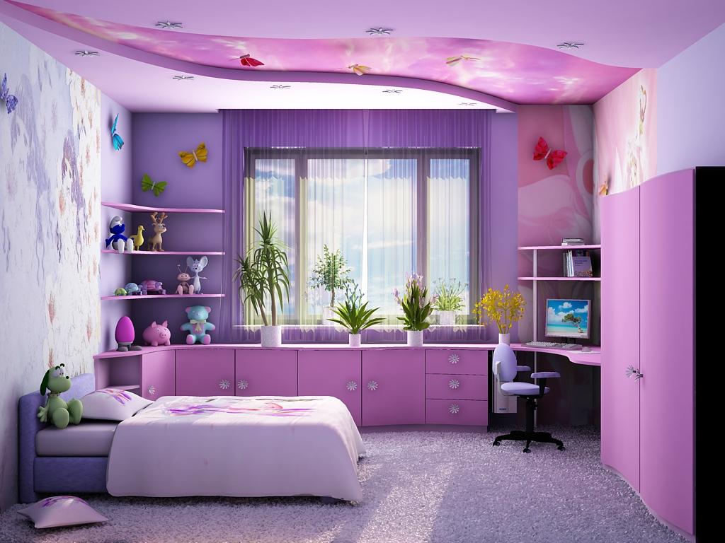 Детская комната в небольшой квартире