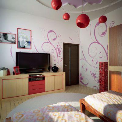 Детская комната в стиле модерн