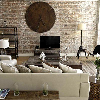 Дизайн гостиной в эко стиле