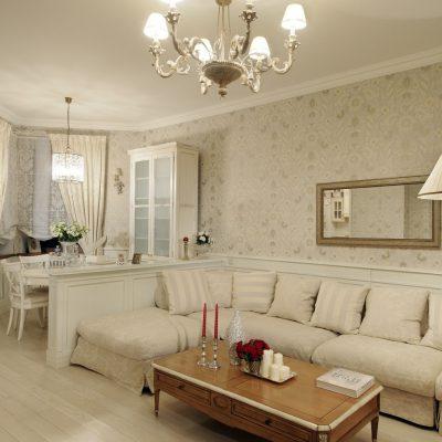 Фото гостиной в классическом стиле