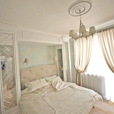 Фото классической спальни