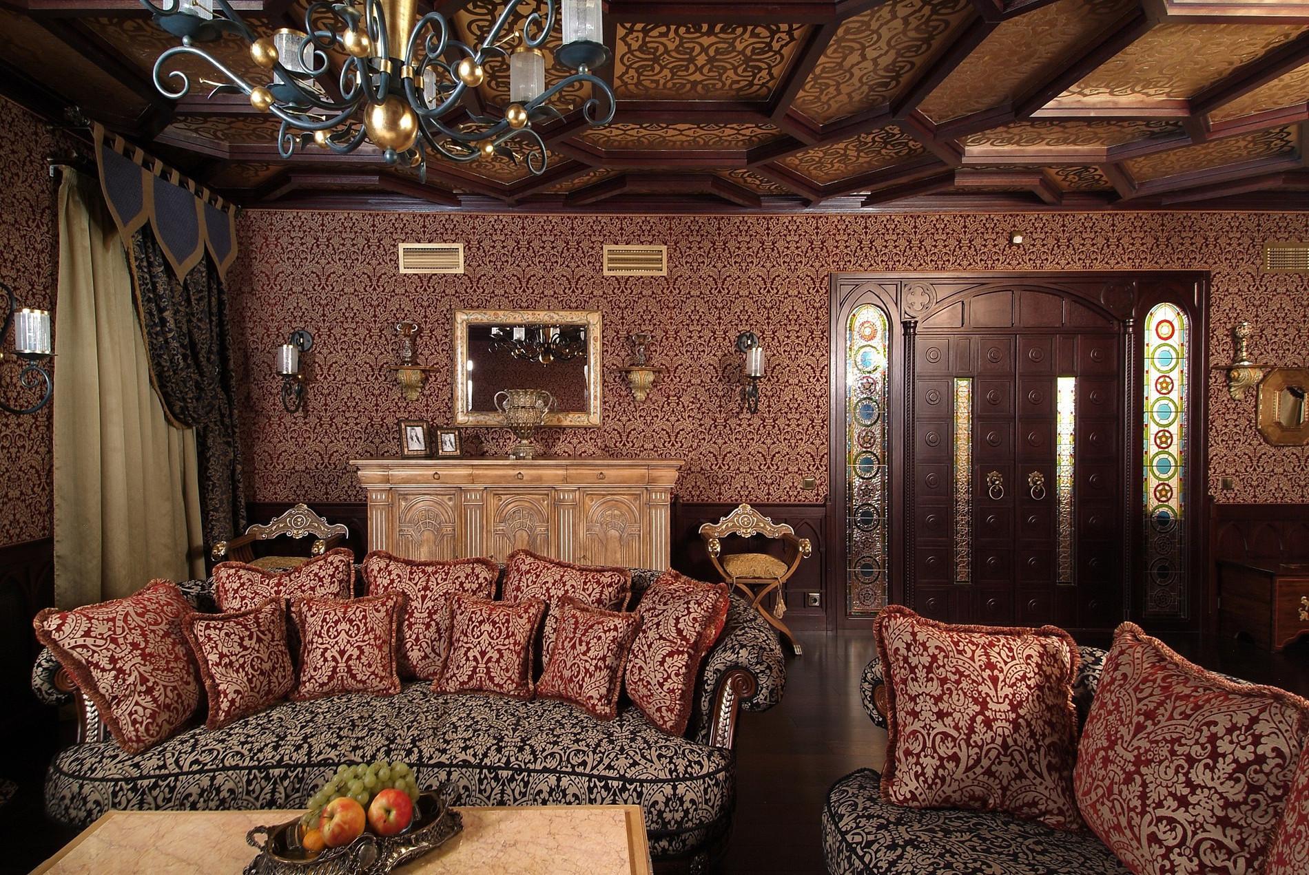 Фото комнат в восточном стиле