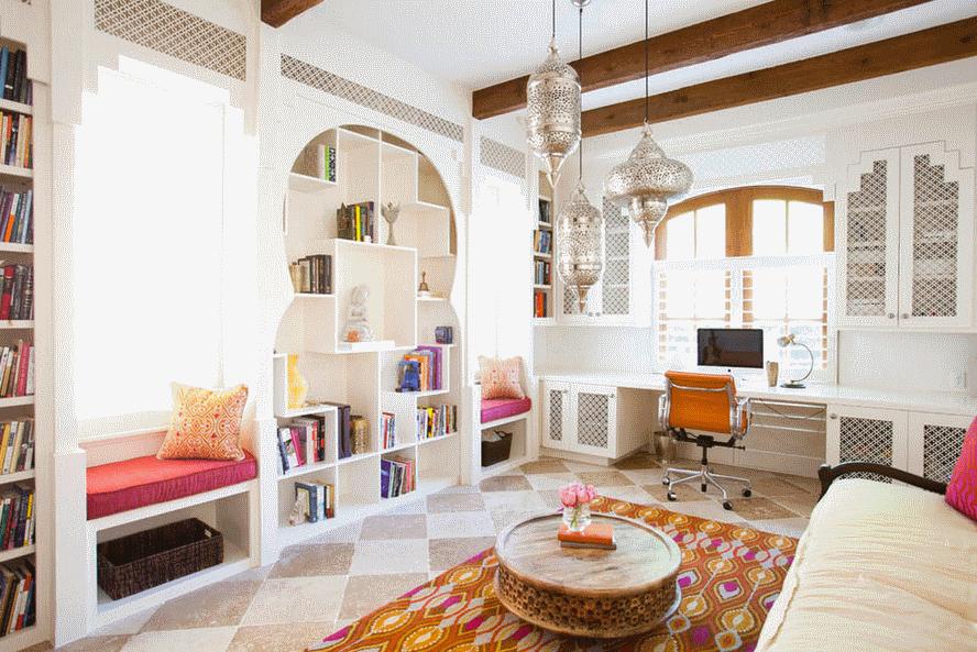 Интерьер квартиры в марокканском стиле