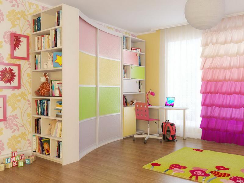 Мебель нестандартных форм в детской