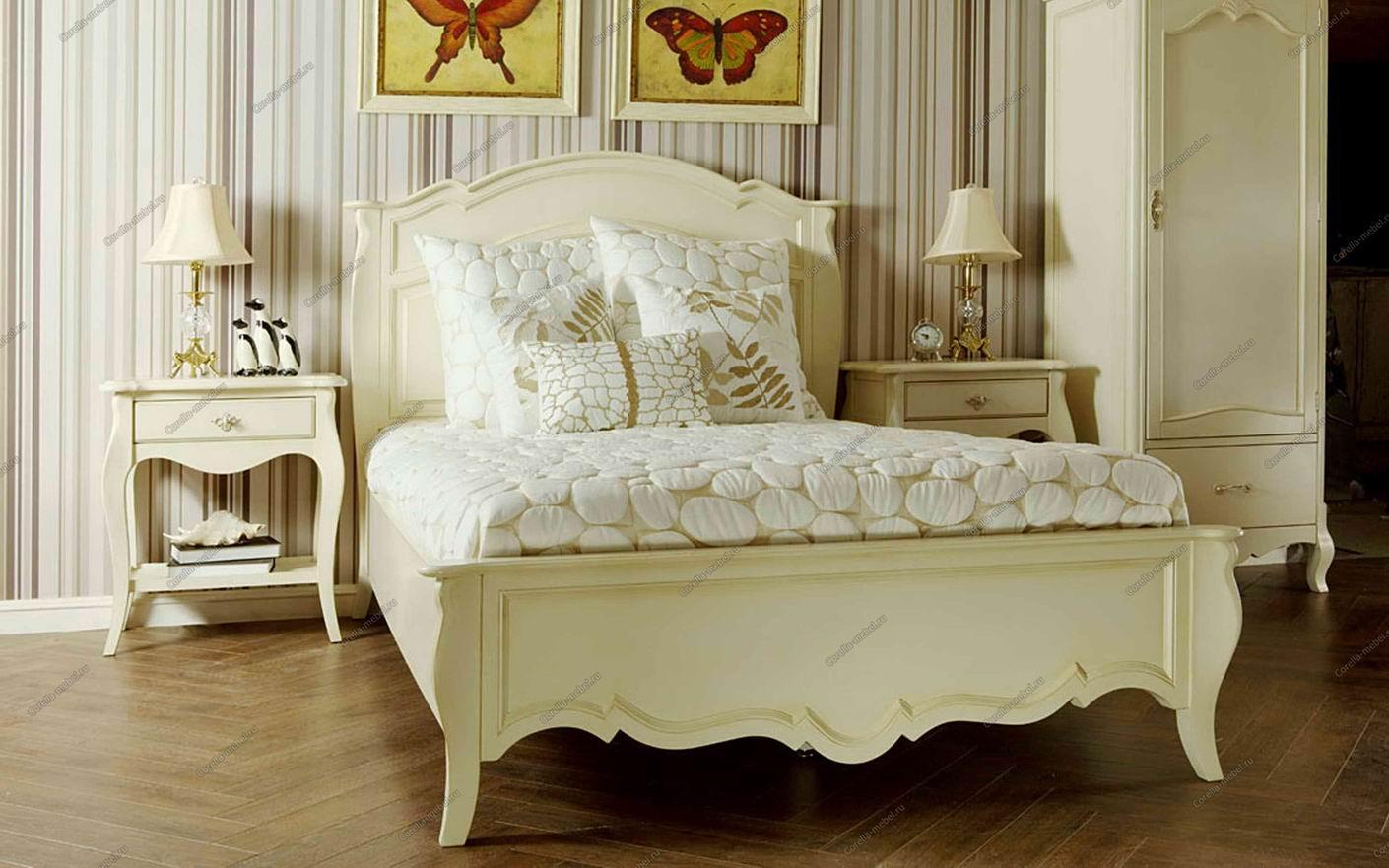Кровать в стиле прованс своими руками