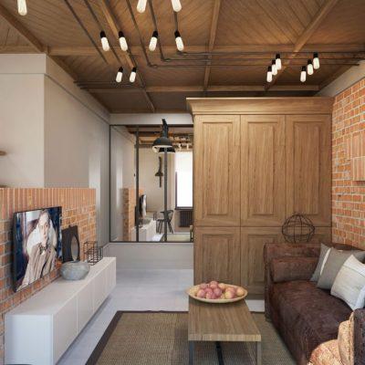 Потрясающий дизайн-проект небольшой квартиры