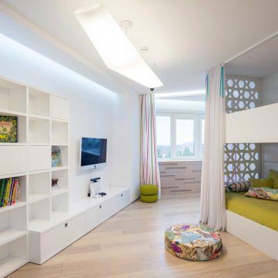 Современный дизайн интерьера детской комнаты