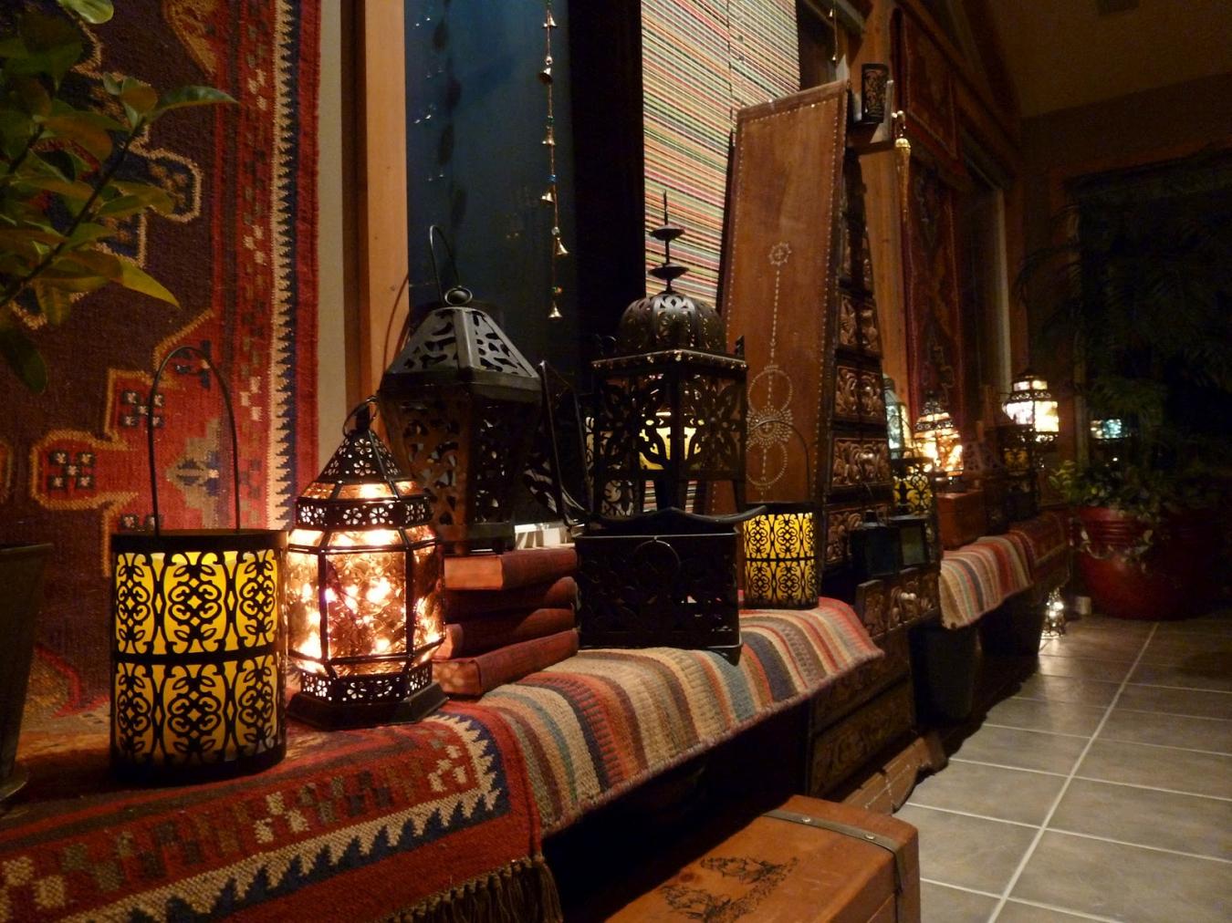 Текстиль в марокканском стиле