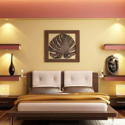 Украшение комнаты в африканском стиле