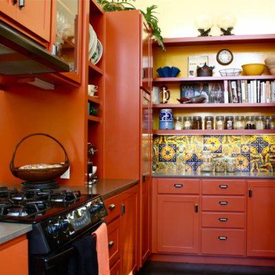 Восточный дизайн кухни