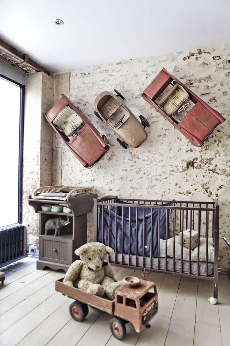 Детская комната шебби-шик для мальчика
