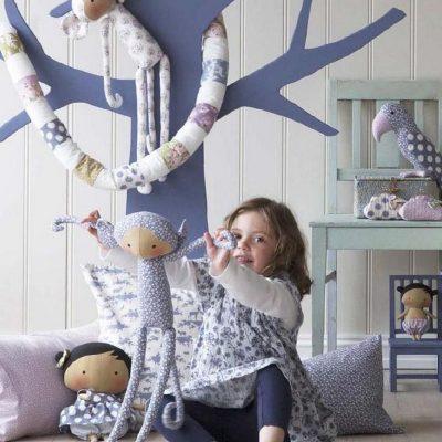 Куклы Тильды в детской в стиле шебби-шик