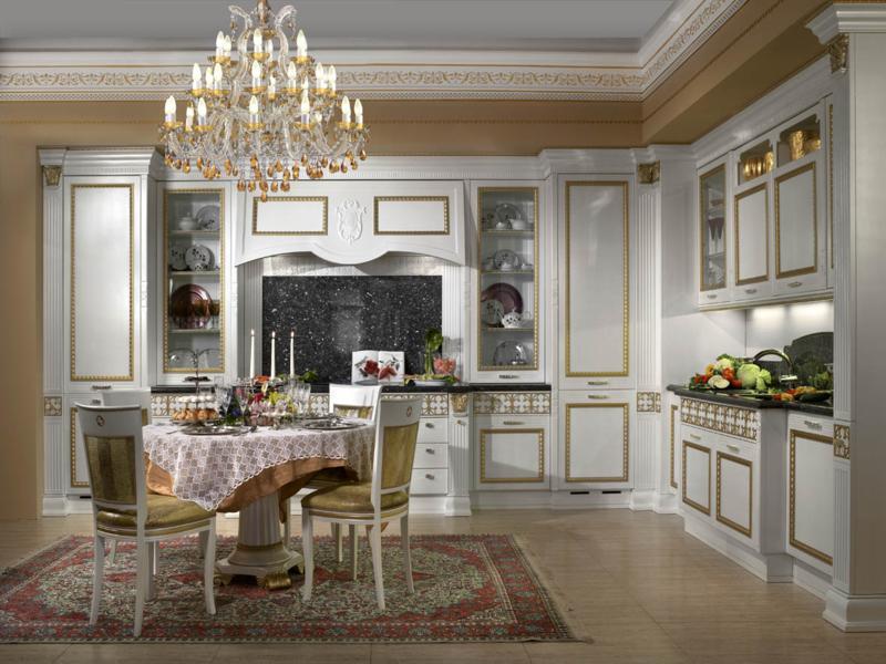 Белоснежная императорская кухня