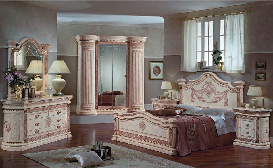 Ампир спальня