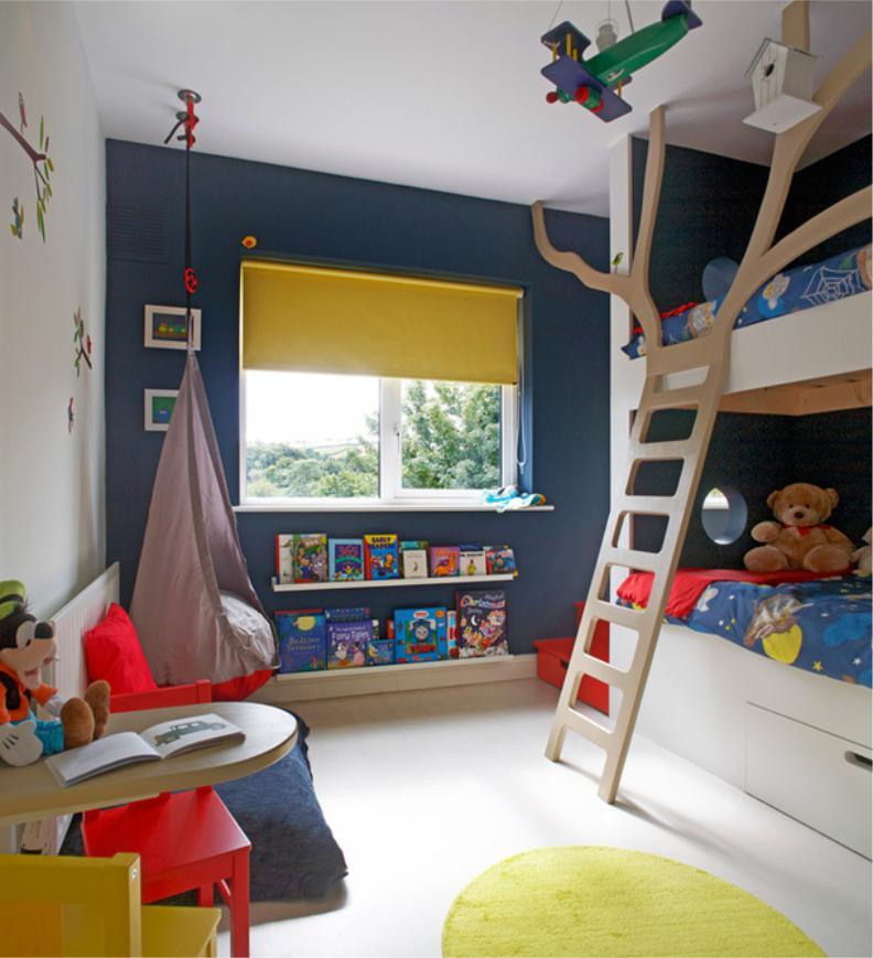 Цветовая гамма комнаты