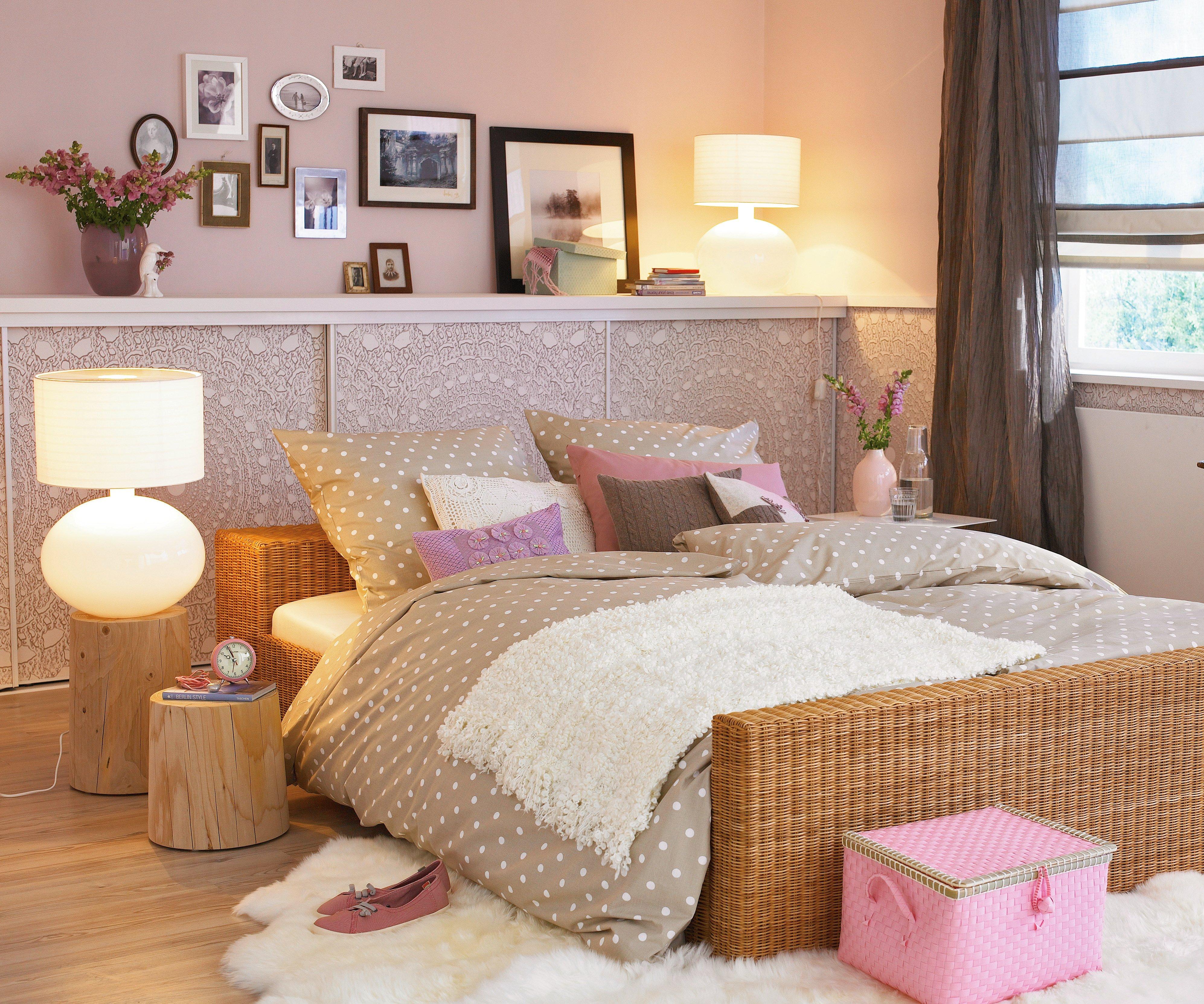 Tapetenmuster Schlafzimmer