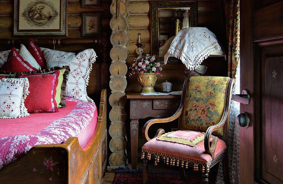 Декор интерьера в русском стиле