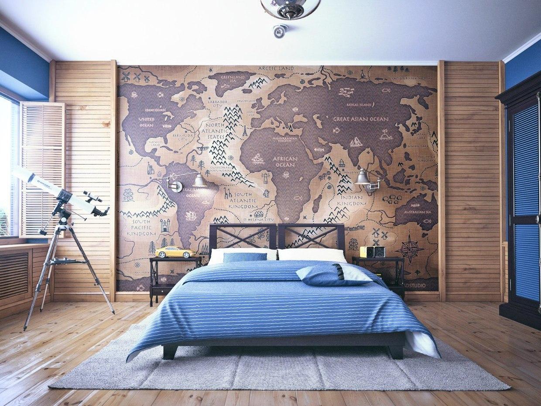 Декорирование спальни в морском стиле