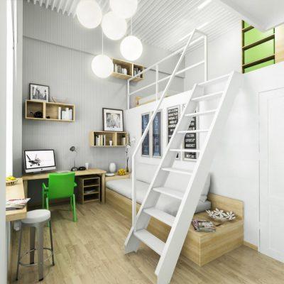 Детская комната индивидуального дизайна фото