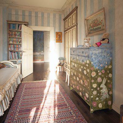 Детская комната в русском стиле
