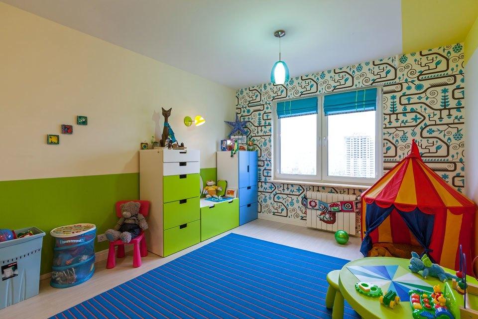 Детские интерьеры в стиле минимализм