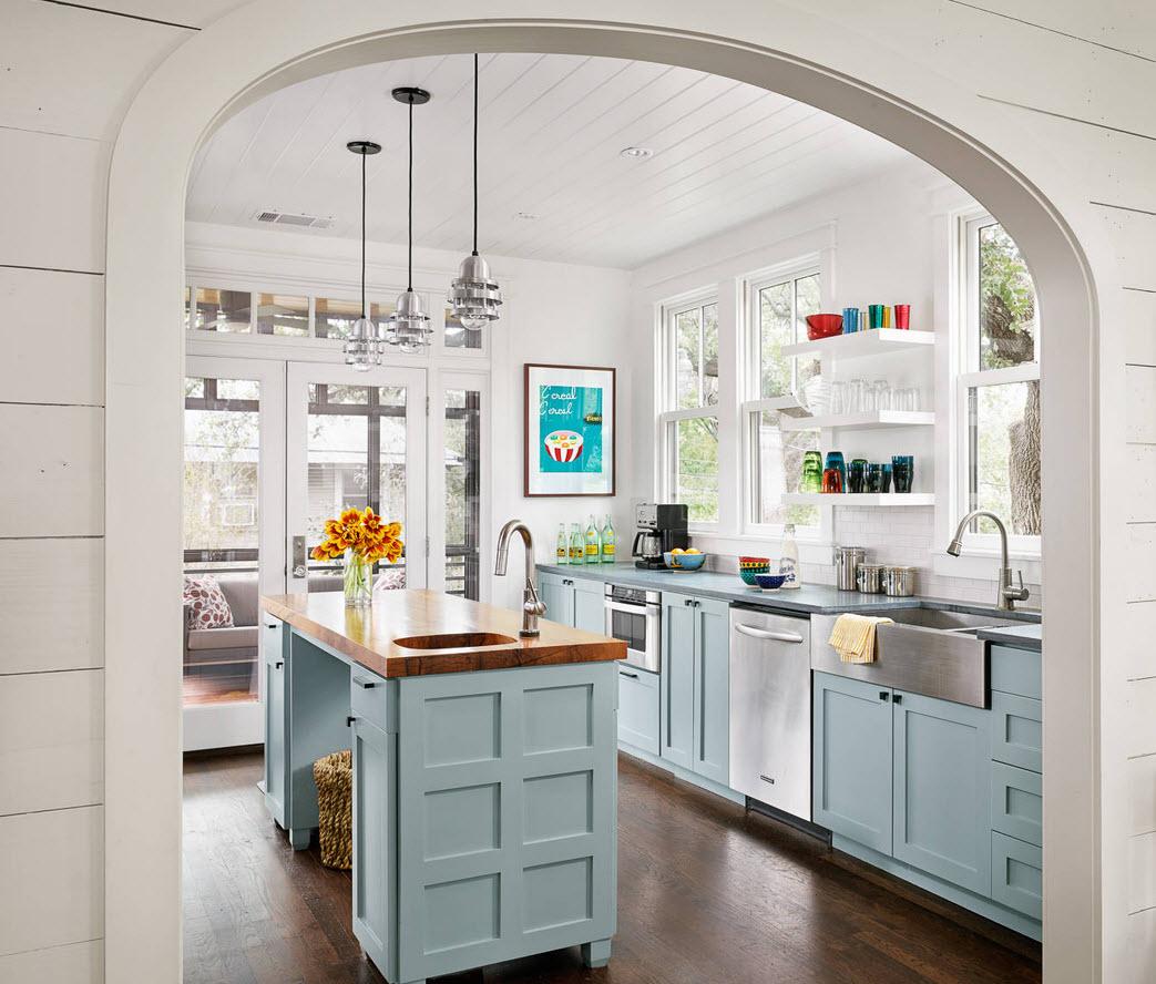 Дизайн интерьера кухни в квартире фото