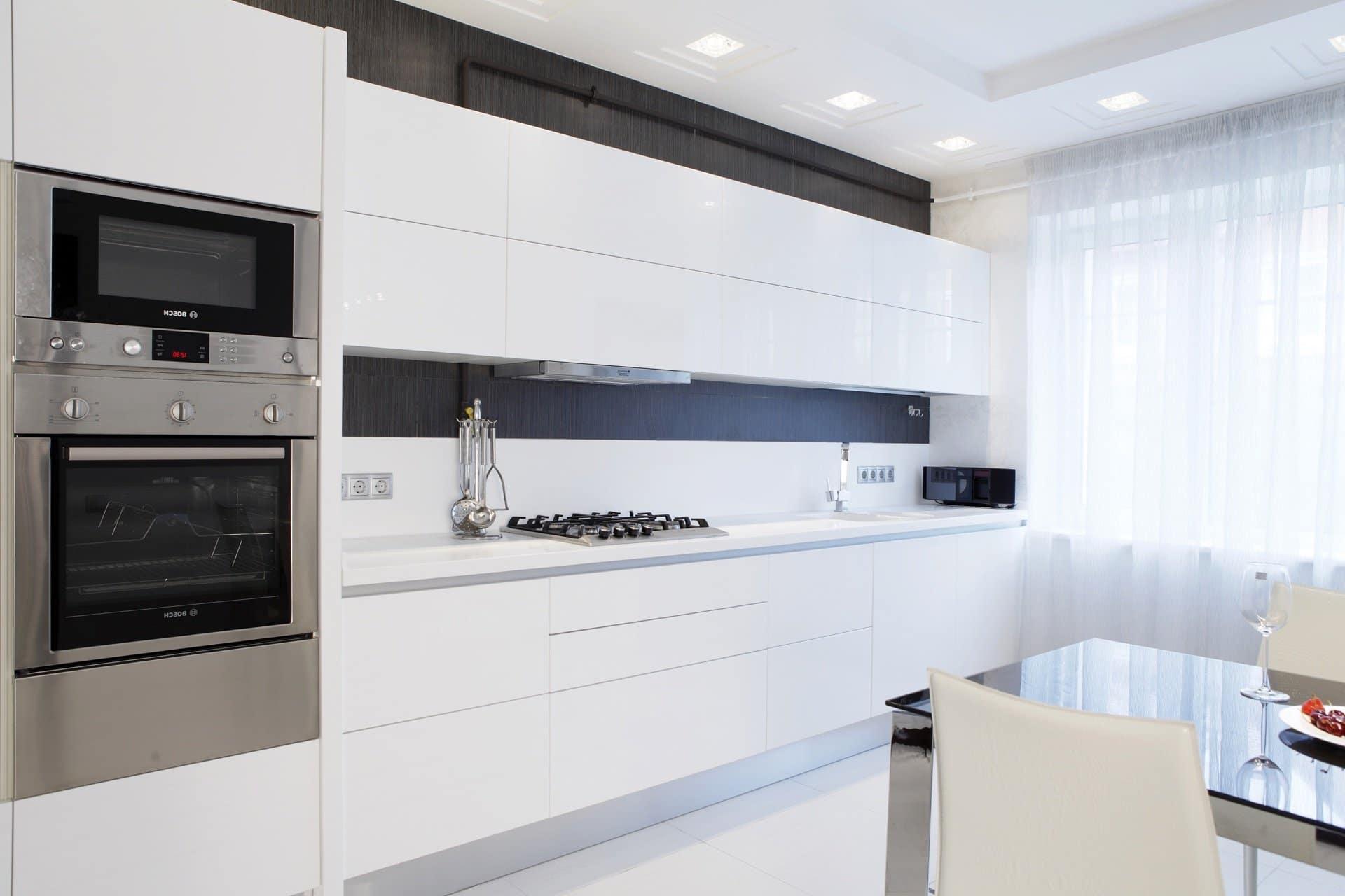 Дизайн кухни в стиле экологический минимализм