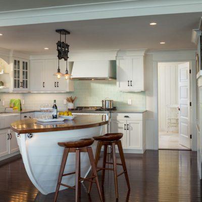 Фото дизайн кухня в морском стиле