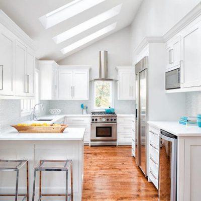 Фото светлой кухни