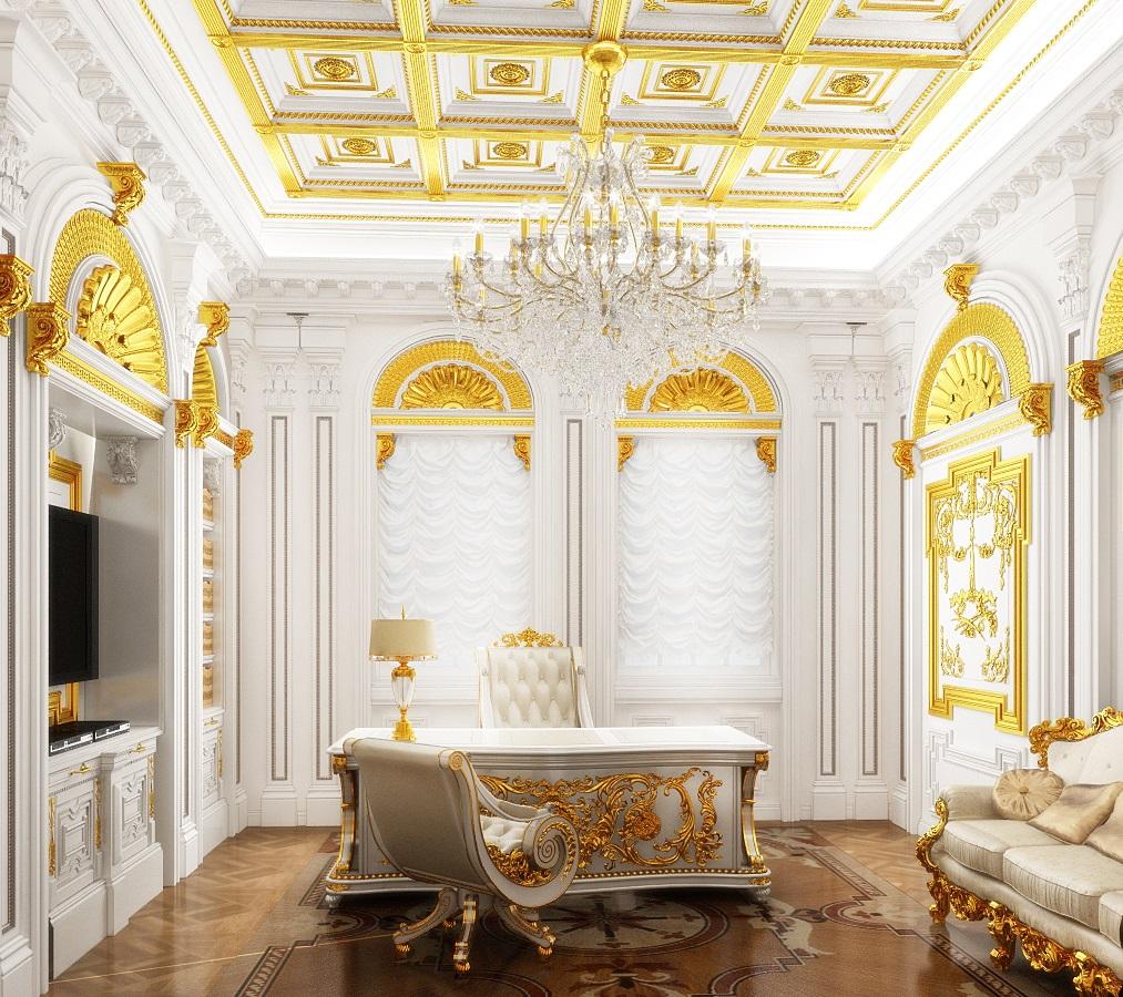 Фотография интерьера в стиле рококо