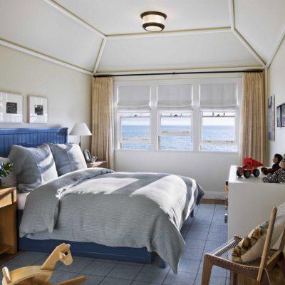 Идея спальни в морском стиле